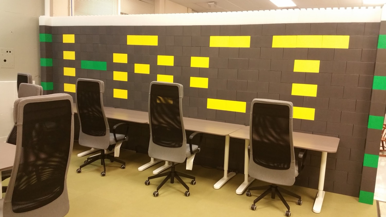 modüler blok çalışma masası