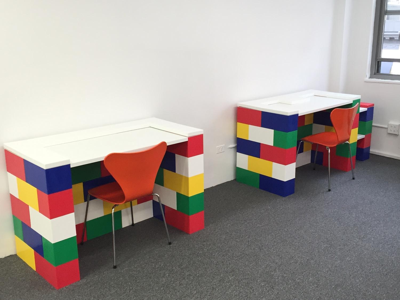 modüler blok masa