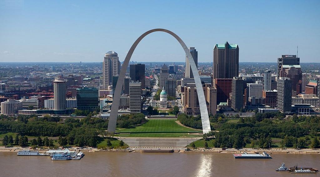 St. Louis Gateway Arch, 1965