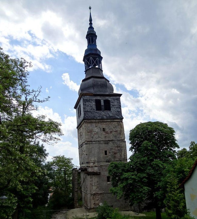 our-dear-lady-at-the-mountain-church-tower-photo
