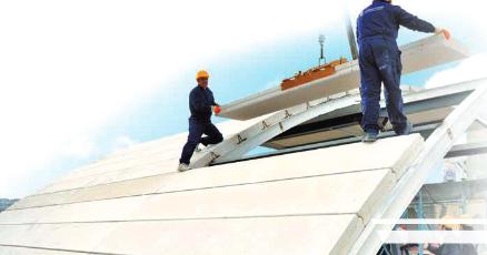gazbeton çatı
