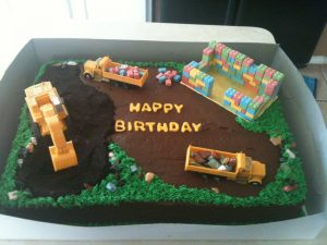 inşaatla ilgili pasta