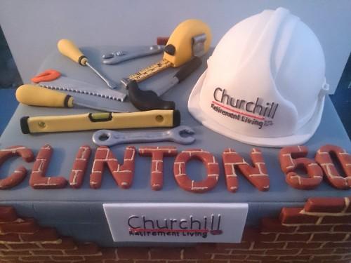 inşaat mühendisi doğum günü pastası