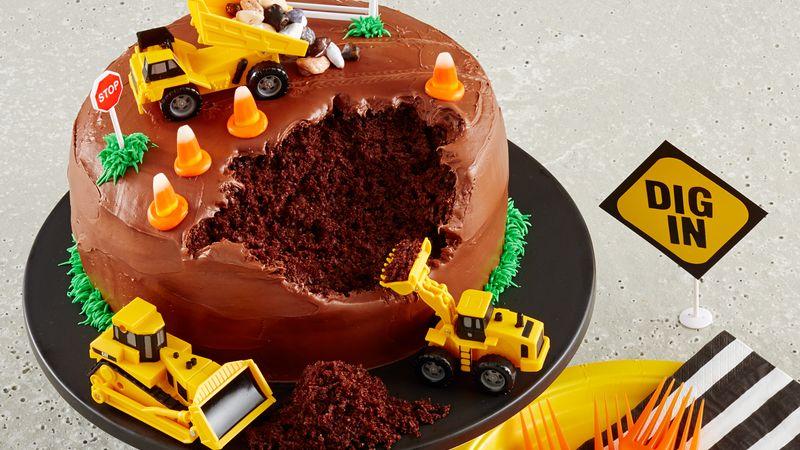 inşaat alanı pasta