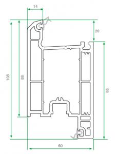 pvc kapı profili 3