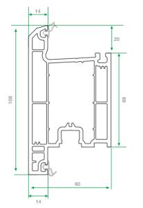 pvc dışa açılım kapı profili 3