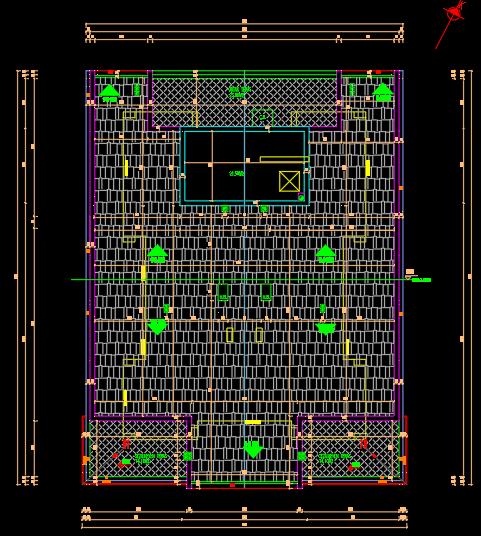 çatı planı
