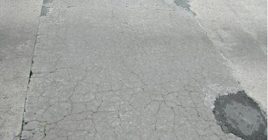 beton yol bozulması