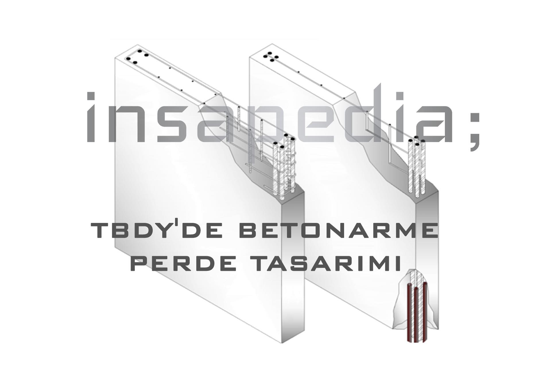 TBDY Betonarme Perde Tasarımı
