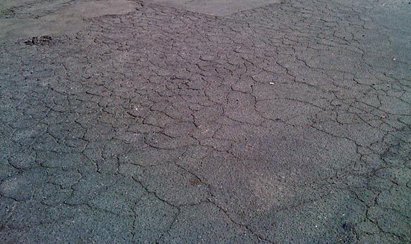 asfalt hasarları