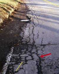 asfalt kenar çatlağı