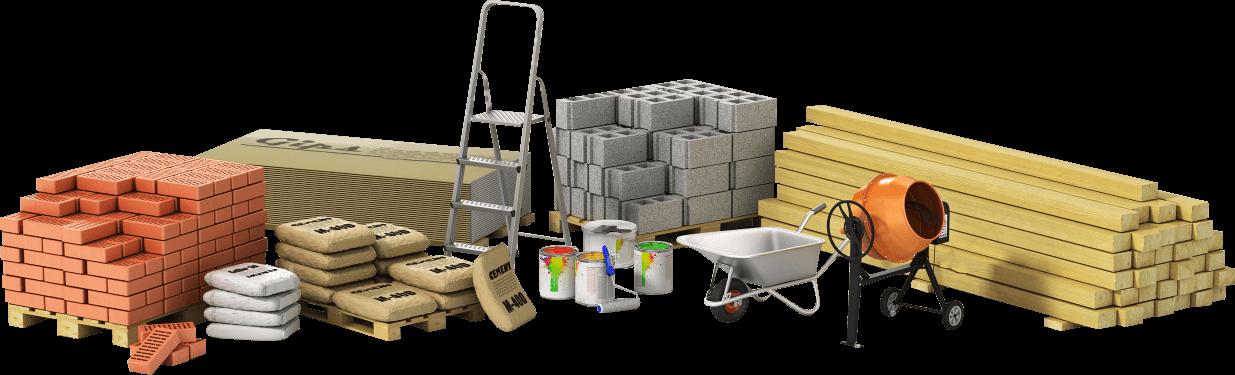 inşaat malzeme