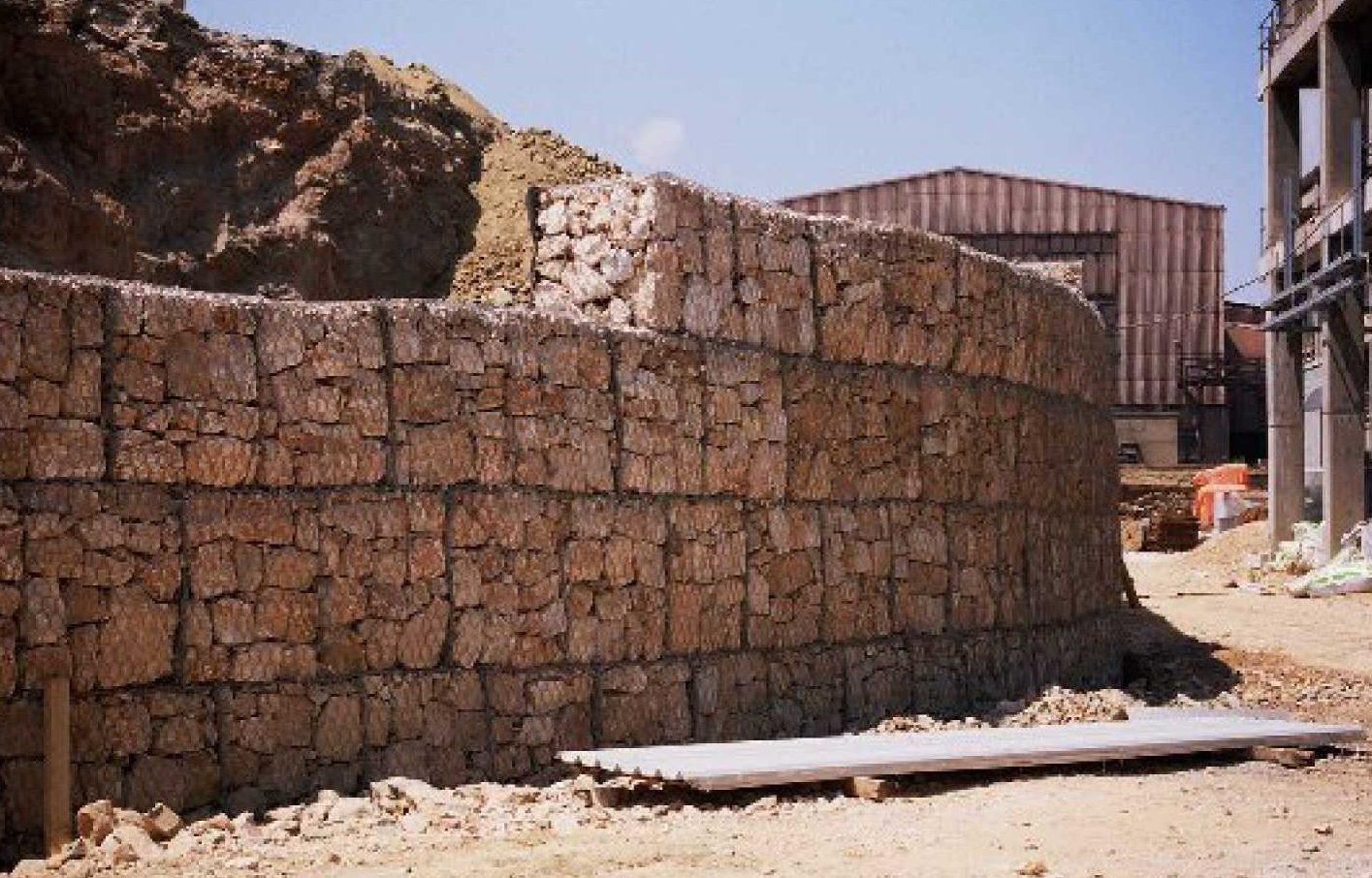 kafes istinat duvarı