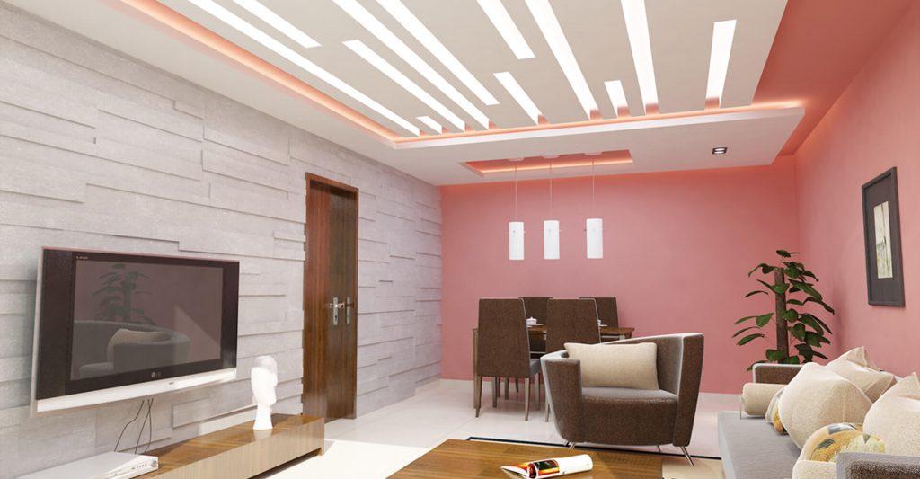 asma tavan tasarımlar resim