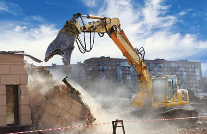 bina yıkımı