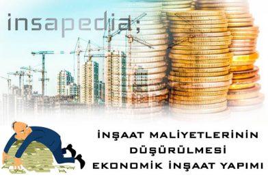 inşaat maliyet