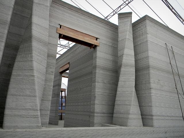 3d yazıcı beton