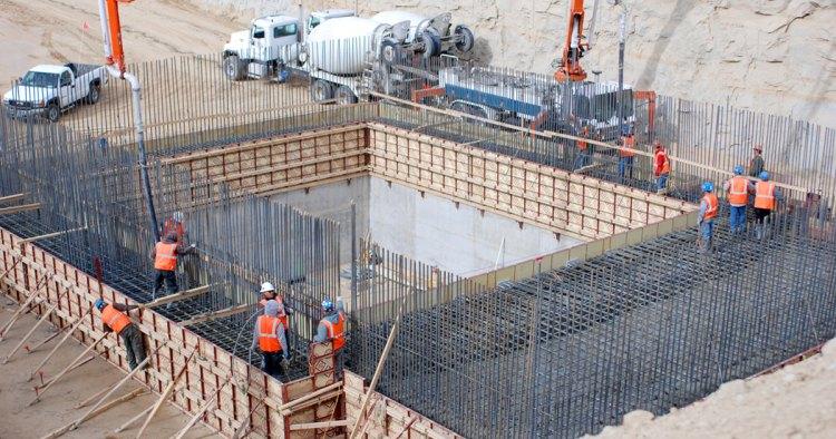 beton döküm su