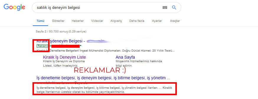 DENEYİM SAT
