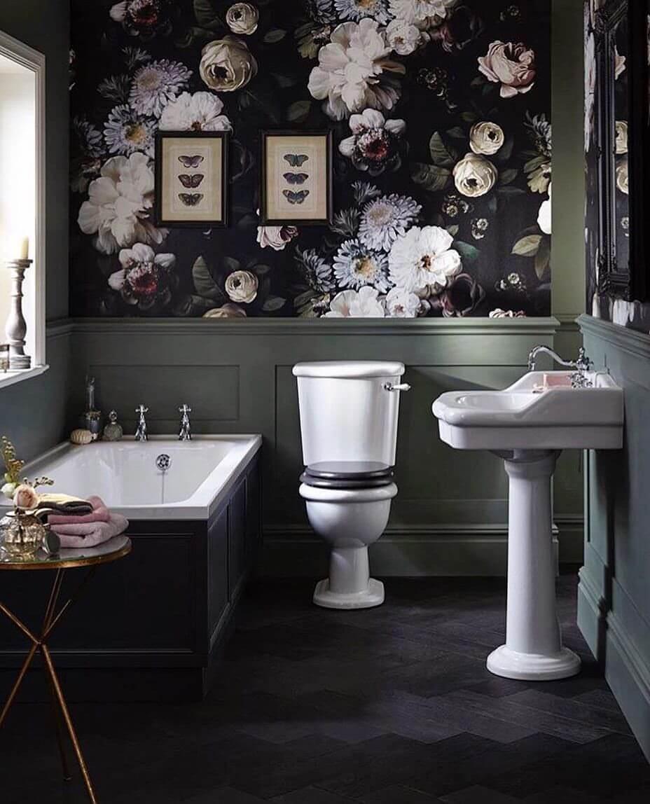 siyah-banyo-duvar-kağıdı