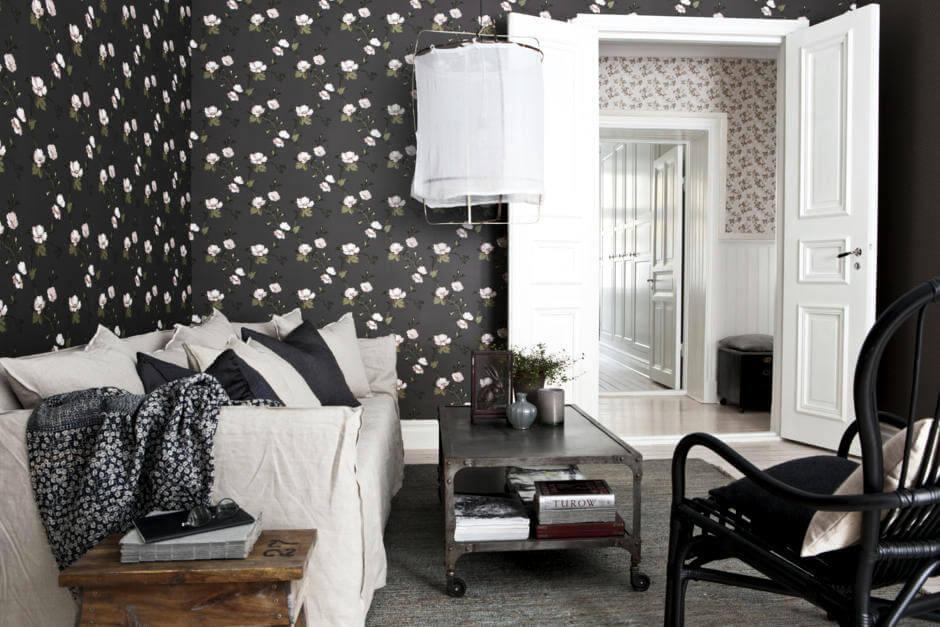 siyah-duvar-kağıdı-beyaz-çiçekli-img