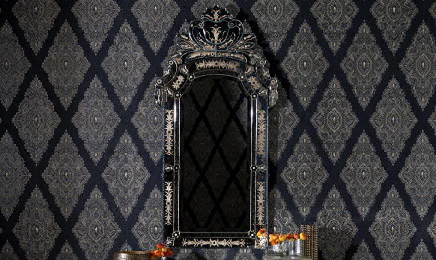 siyah-klasik-duvar-kağıt-modeli