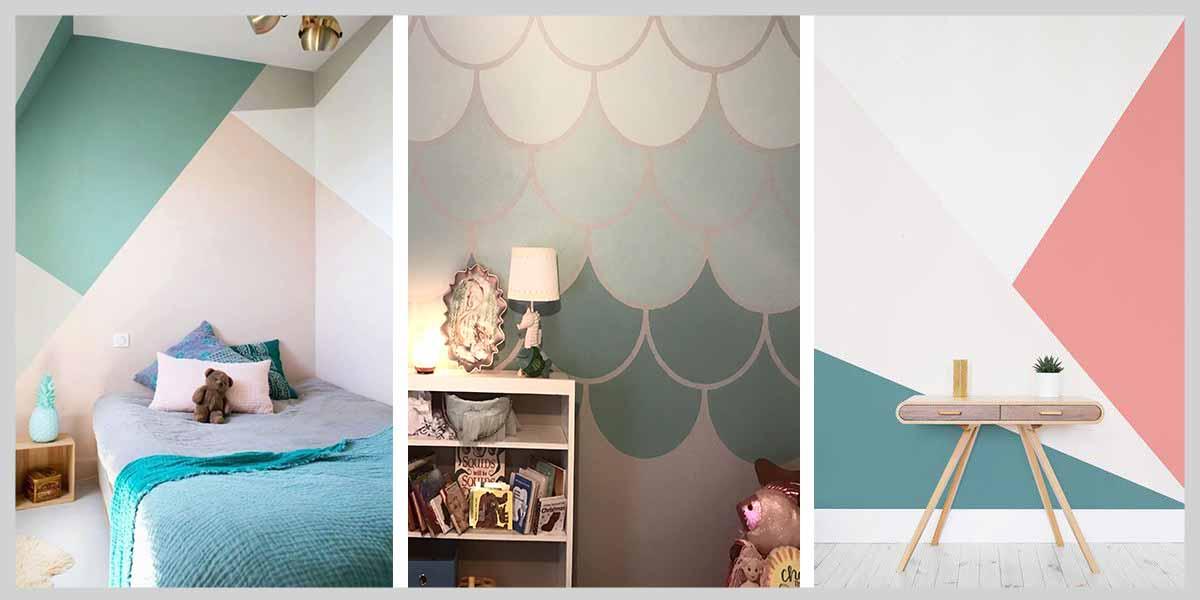 Duvar-boyası-renkleri-geometrik