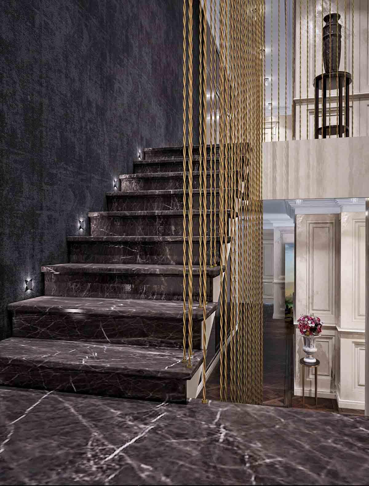 mermer-granit-merdiven