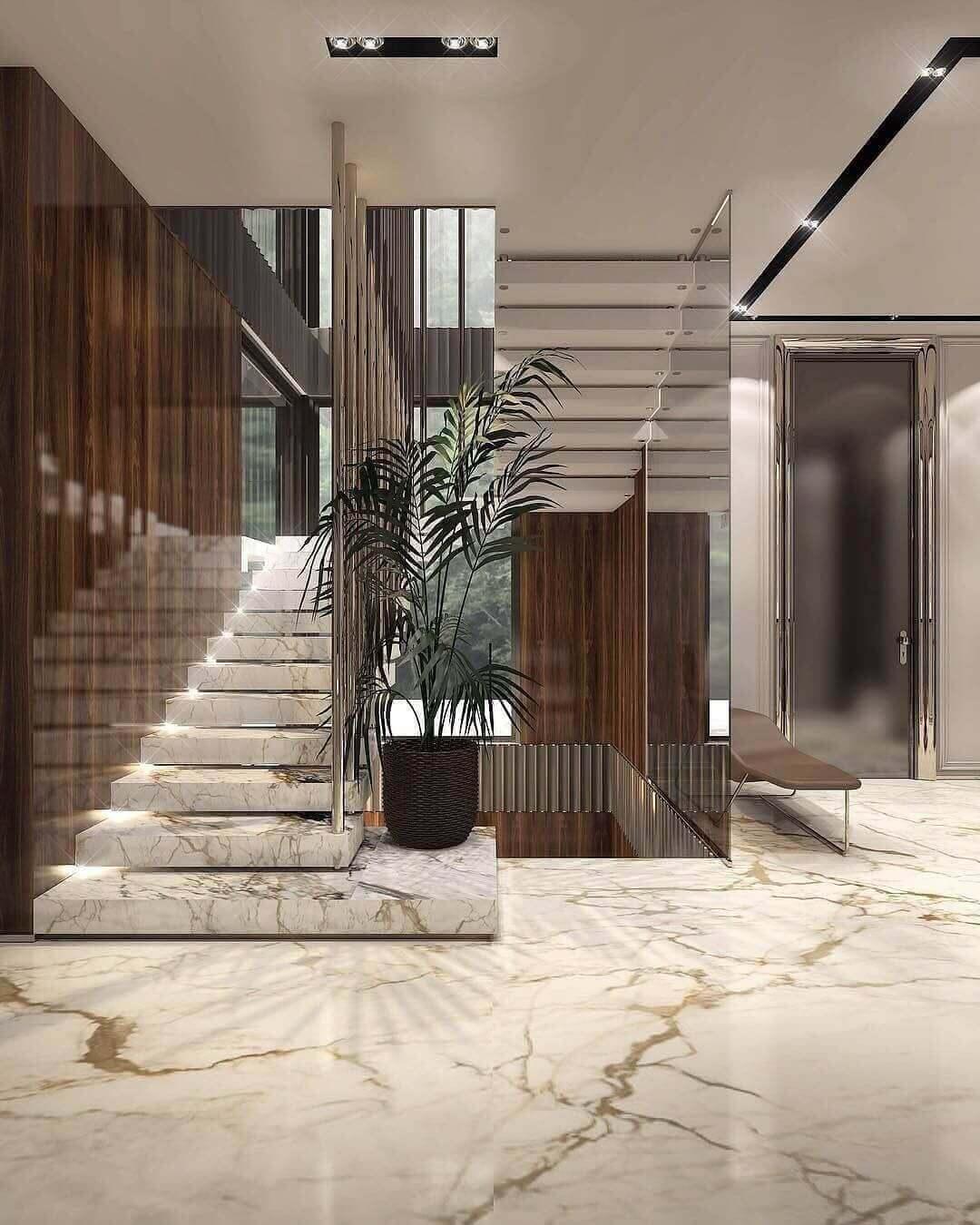 mermer-merdiven-model