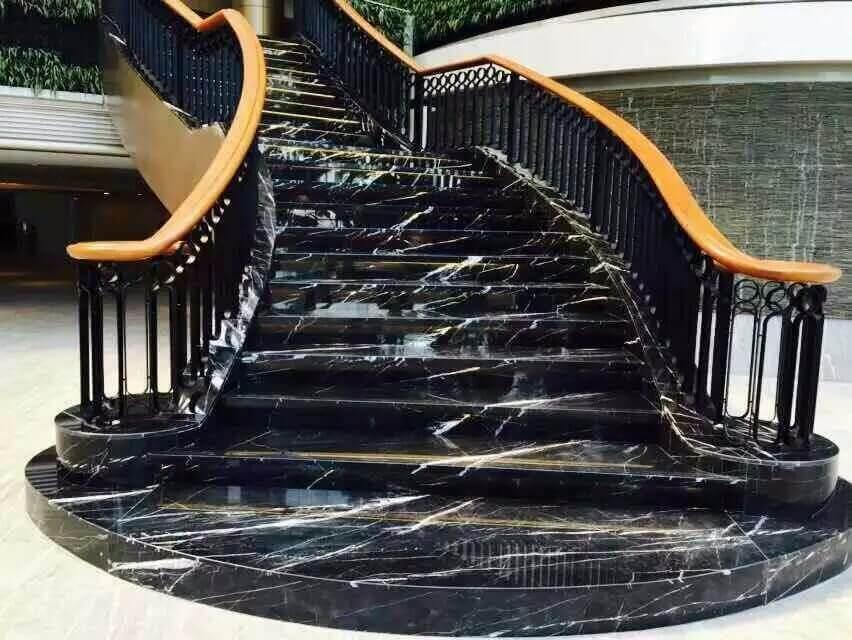 siyah-merdiven-mermer
