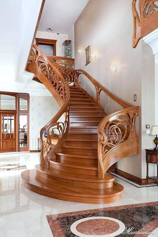 ahşap-dubleks-merdiveni