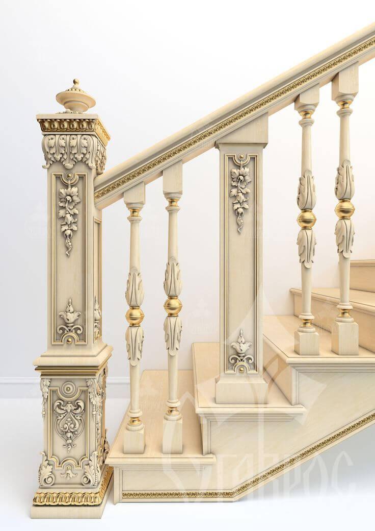 ahşap-merdiven-korkuluğu