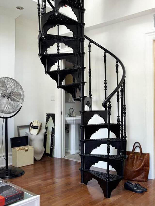 döner-merdiven-modeli-tasarım