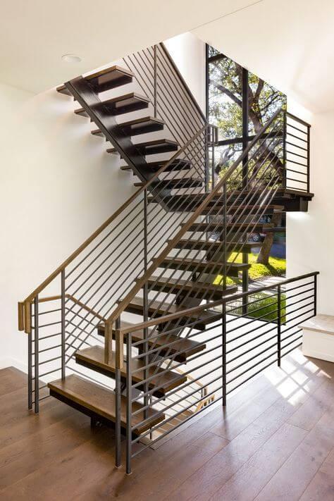 dubleks ev merdiven modelleri (2)