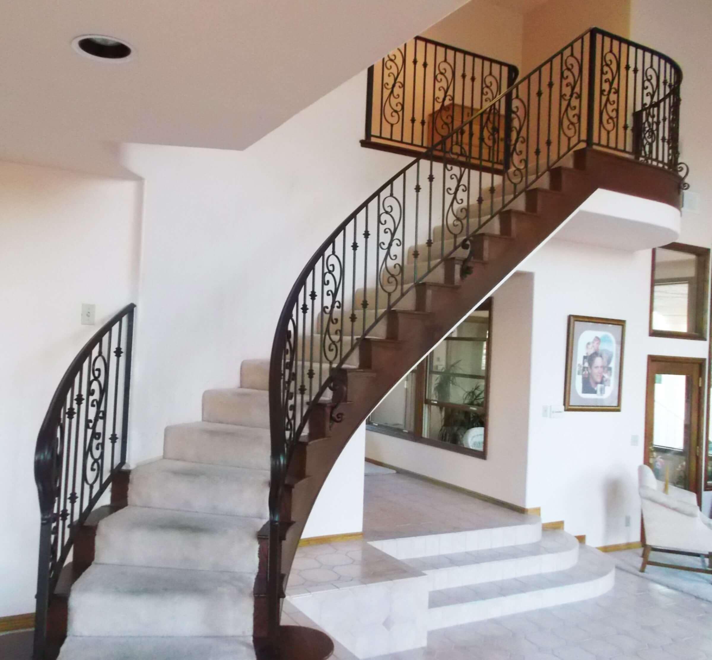 iç merdiven korkuluk modelleri-