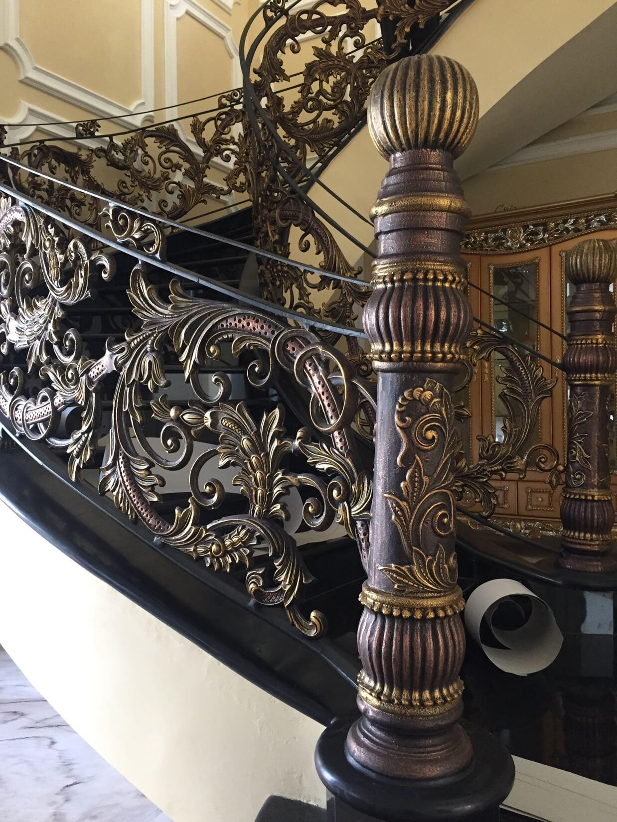 merdiven korkuluk modelleri