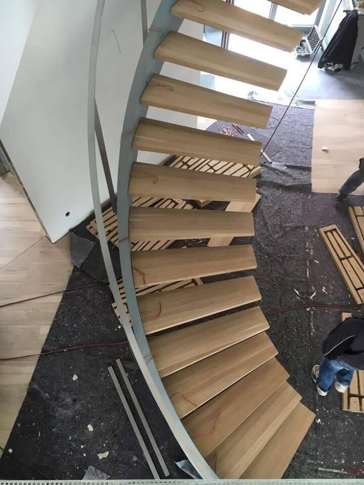 villa merdiven modelleri