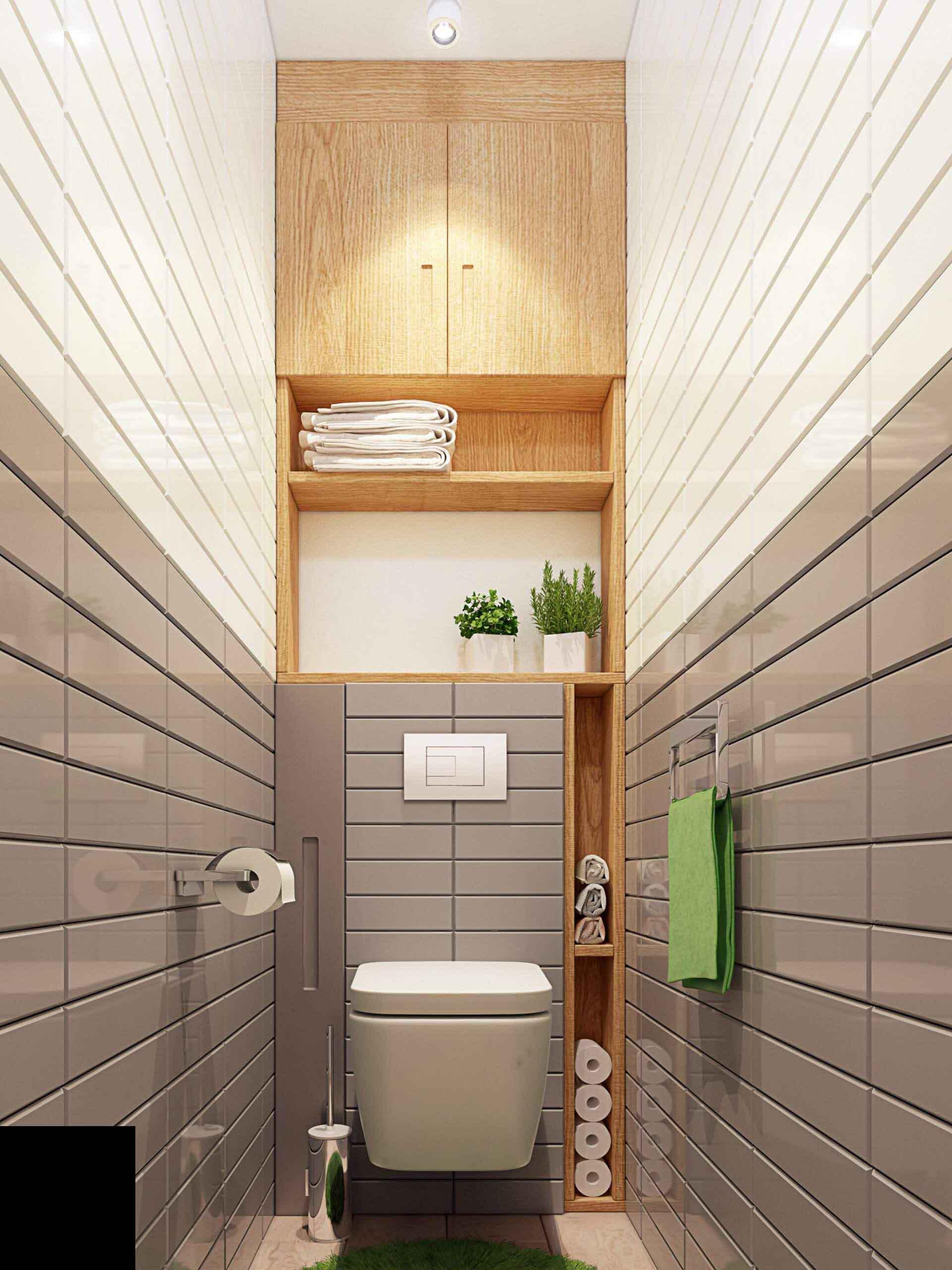 şık-modern-küçük-tuvalet-wc-dekorasyonu