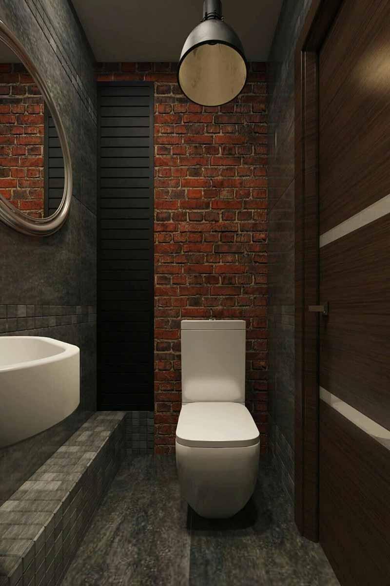 Küçük-tuvalet-taş-kaplama-model