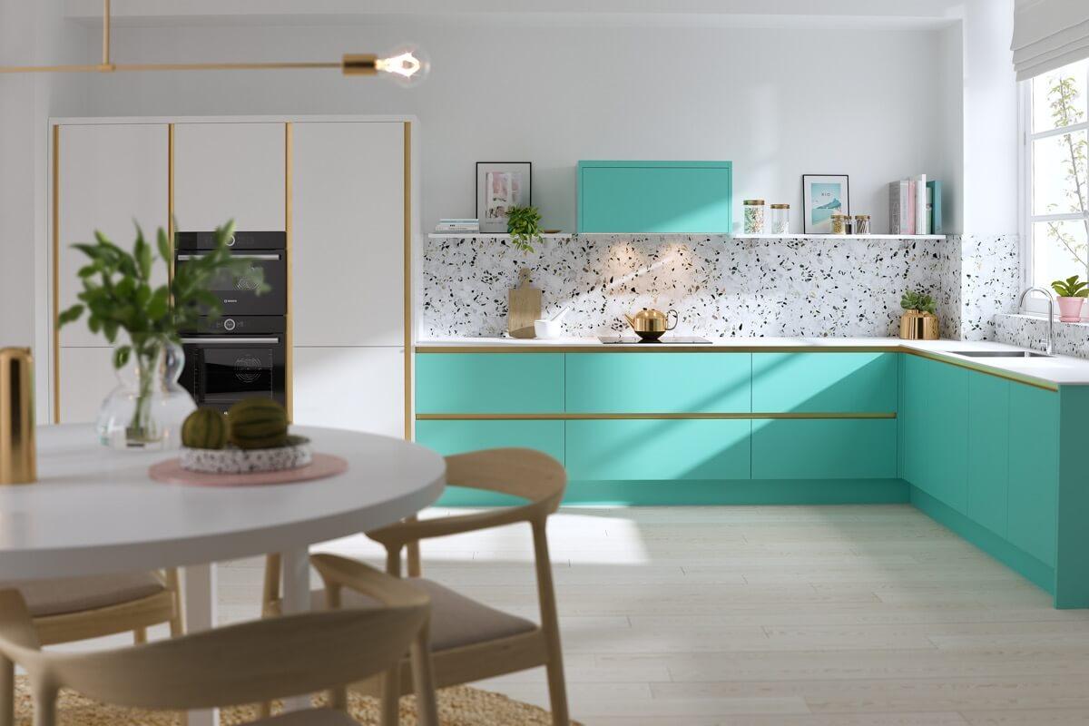 açık-yeşil-mutfak-dolabi-modeli