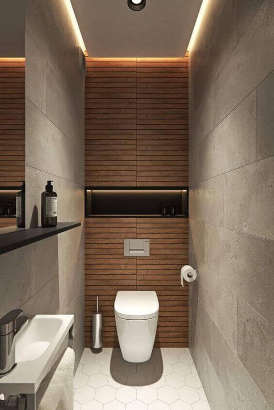 dar-wc-dekorasyonu-küçük-tuvalet-model-gri-kahve-rengi