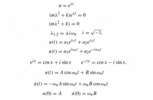 doğal-titreşim-frekansı-formülü