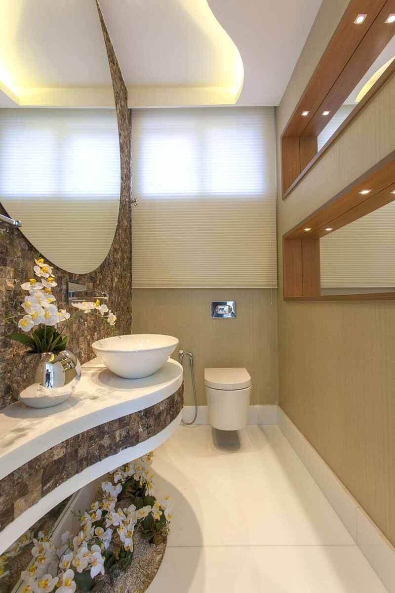 küçük-tuvalet-dar-wc-taş-kaplama-dekorasyon