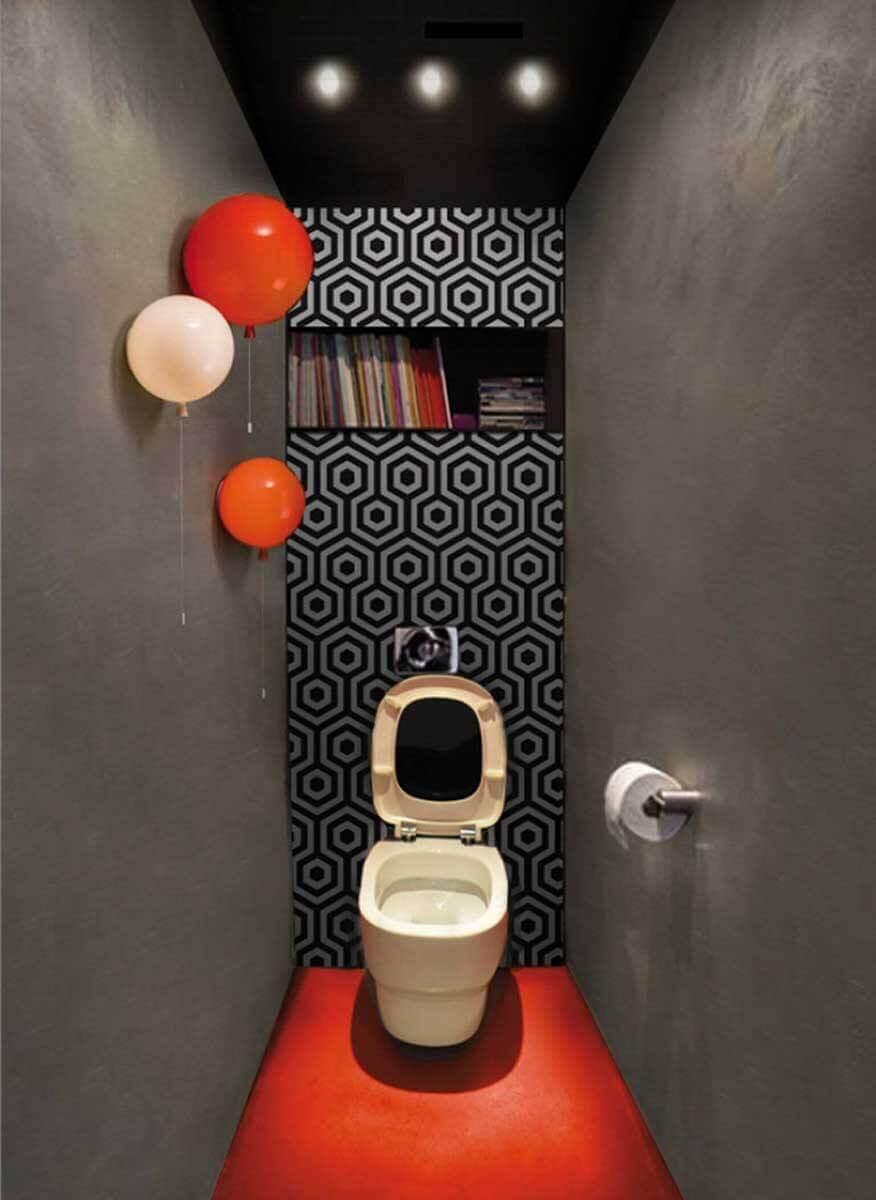 koyu-gri-wc-tuvalet-dekorasyonu