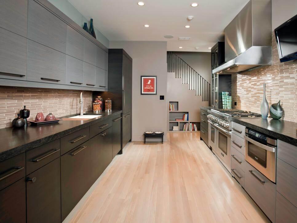 siyah-gri-modern-mutfak-ve-mutfak-dolabi-modeli