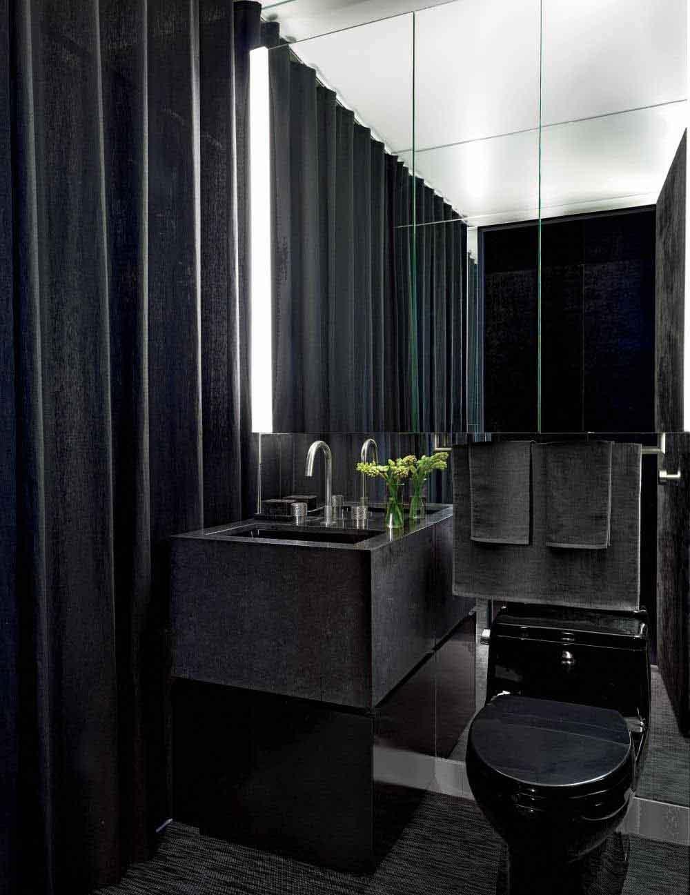 siyah-küçük-tuvalet-modeli-wc-dekor