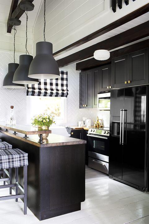 siyah-mutfak-dolabi-çeşidi