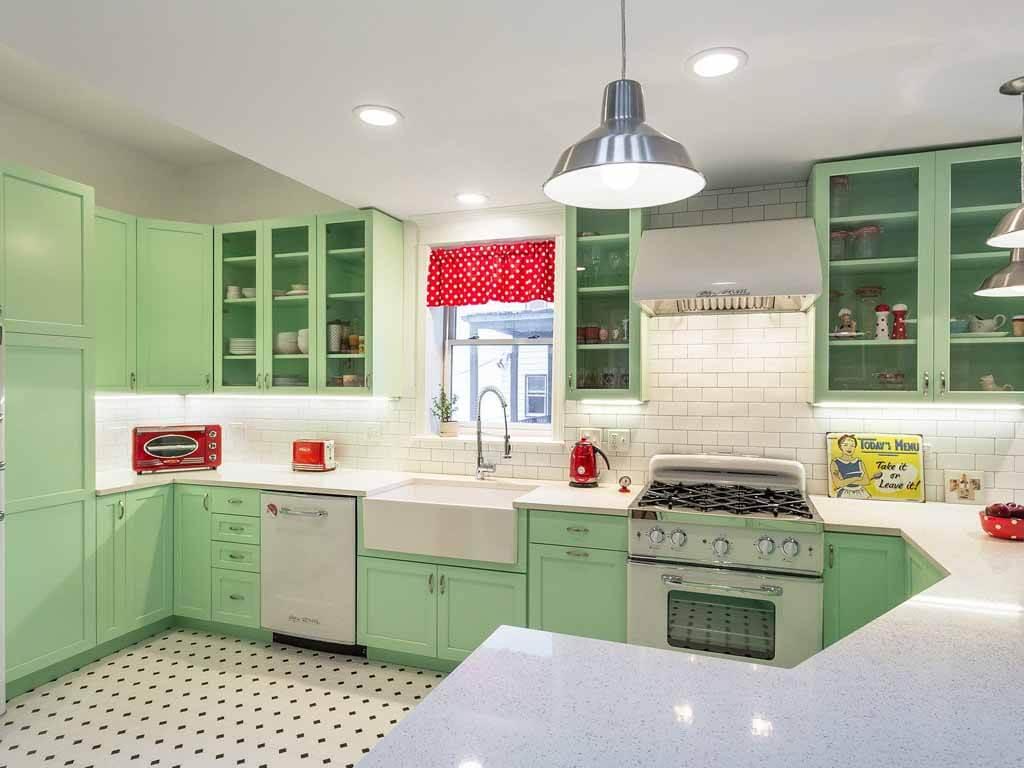 su-yeşili-mutfak-dolabi-modeli