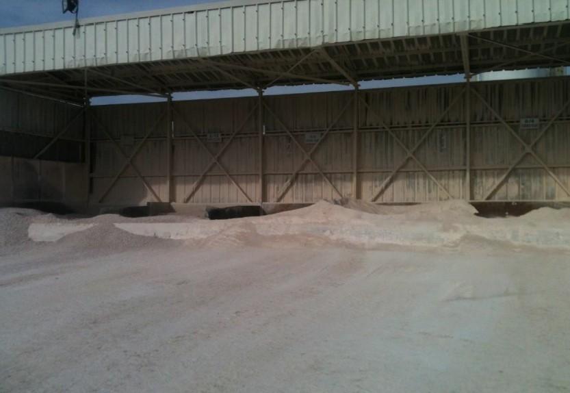 Bunker tip hazır beton santrali bunker dolum ağzı