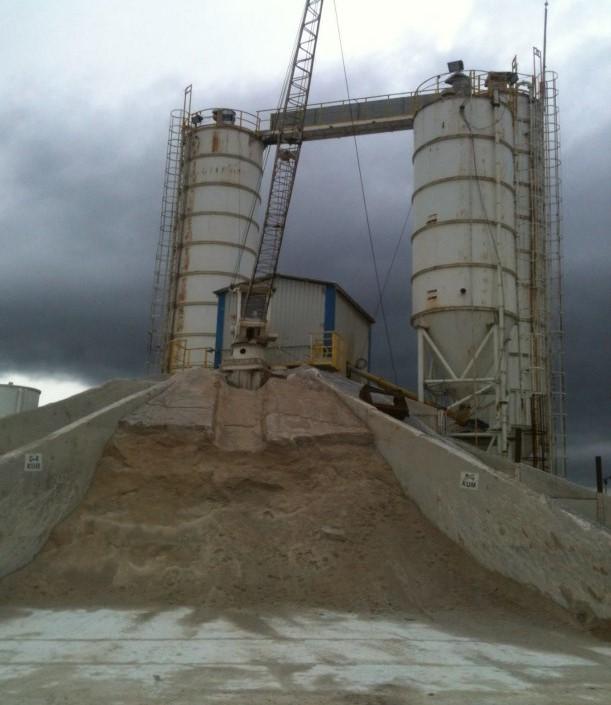 Yıldız tip skreyperlı hazır beton santrali